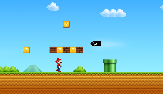 Super Mario Endless Run